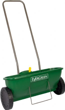 EverGreen Garden Lawn Feed Fertilizer Grass Seed Easy Drop Spreader Plus